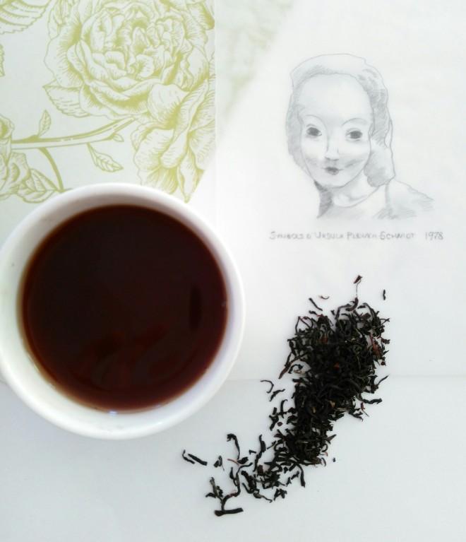 A cup of freshly brewed Assam tea